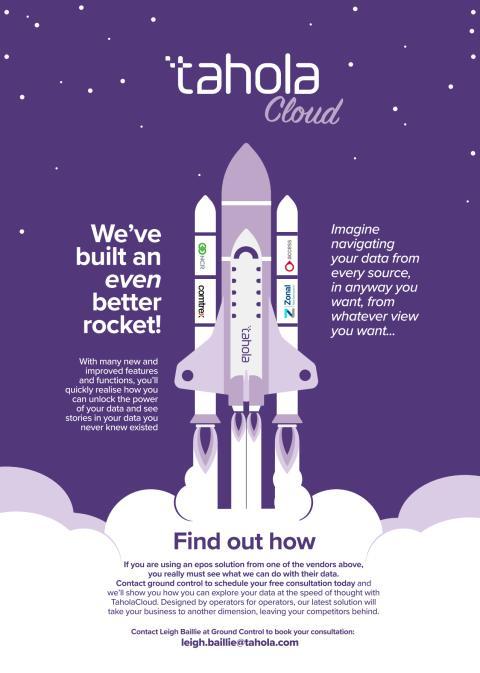 We've built an even better rocket.....