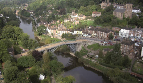 Boost for tourism as Superfast Telford bridges technology gap at historic Ironbridge ahead of schedule