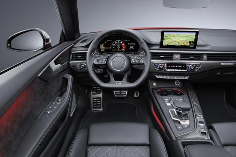 Interiör Audi S5 Cabriolet