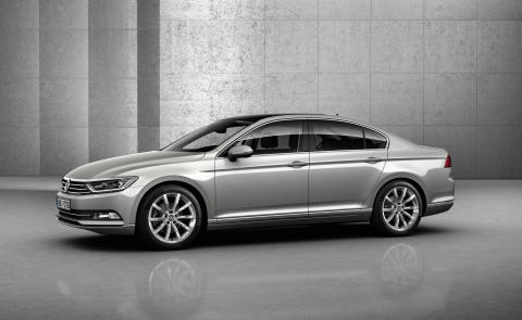 VW reveals all-new Passat saloon and Estate models