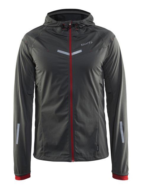 Weather jacket för herr, skyddar mot vinterns yttre element