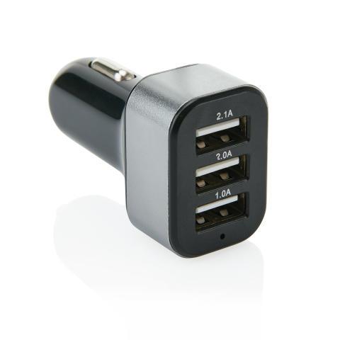 Trippel USB-laddare