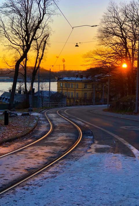 Elbilstaxi. Foto- Kungl. Djurgårdens Intressenter, Johan Danielson
