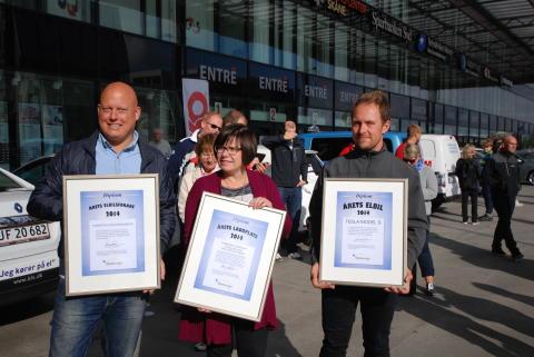 Snabbladdstationen för elbilar vid Överby är Årets laddplats