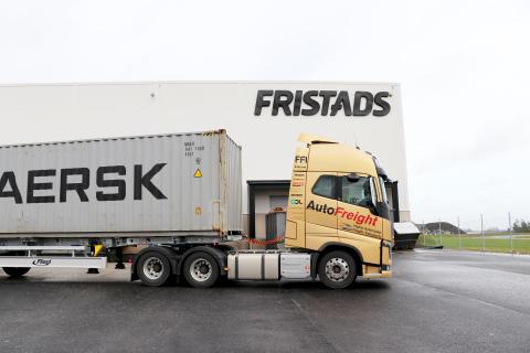 Fristads deltar i projekt för miljöeffektivare containertrafik
