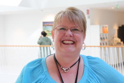 Liza Löfberg, fackligt förtroendevald i Praktikertjänsts styrelse. Ekonomiassistent.
