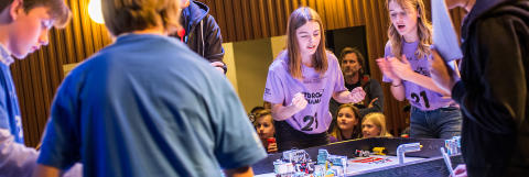 ​Regionsfinal i First Lego League