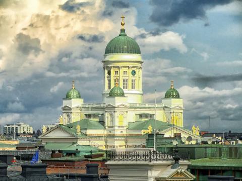 Skogsforskningsprojekt svensk gåva på Finlands 100-årsdag