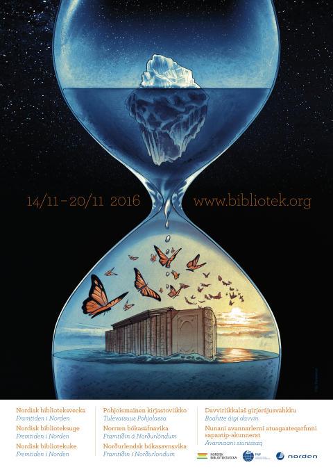 NordiskBibliotekuke2016 plakat WEB