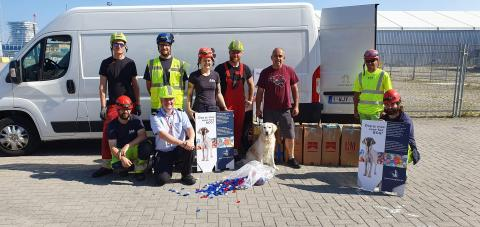 ESVAGT MERCATOR's donation towards training of guide dogs
