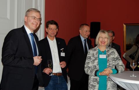 Scandlines' Neujahrsempfang in Berlin: Ziel emissionsfreier Fähren rückt immer näher