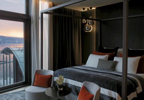 Europas beste hotellsuite på Tjuvholmen