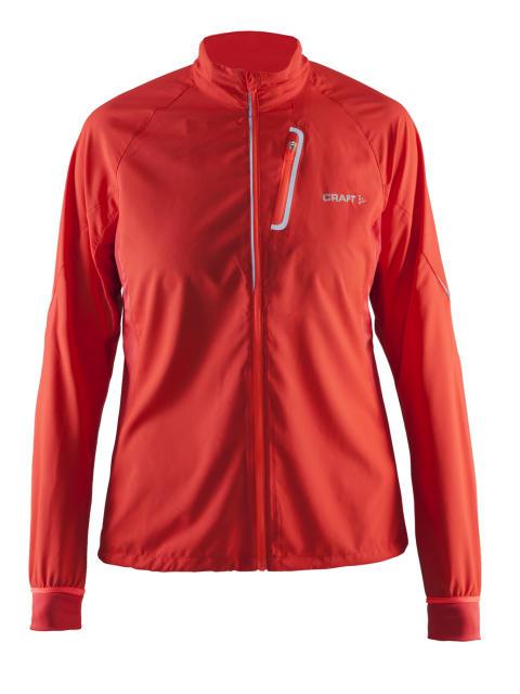 Devotion jacket (dam) i färgen tempo/shock