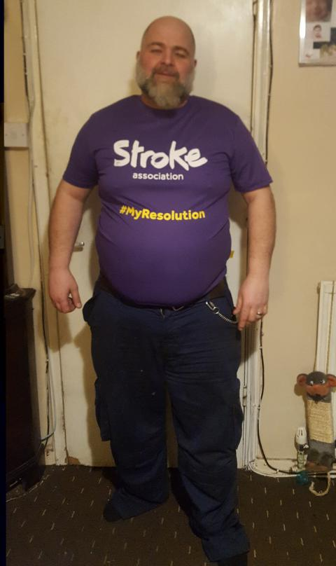 ​Leicester stroke survivor takes on Resolution Run for the Stroke Association