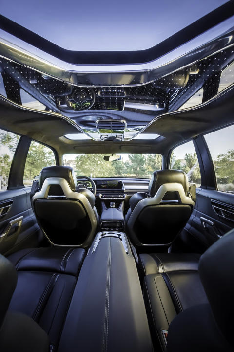 Kia Telluride SUV konceptbil panoramatak