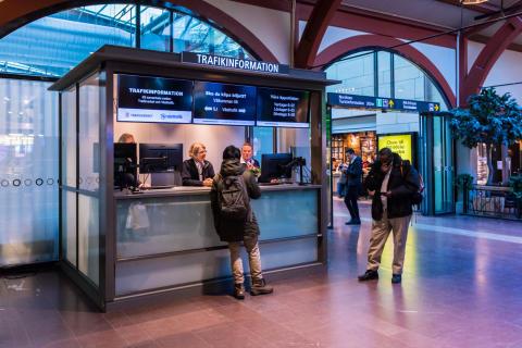 Trafikinfocenter Centralstationen Göteborg