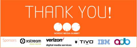 Thank you for a great Nordic Media Summit 2016!