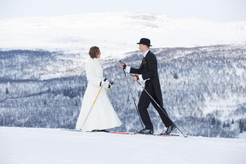 Bröllop i Ramundberget