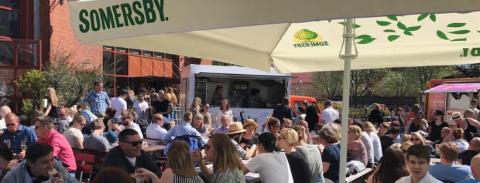 Street Food, Design Market & Bakluckeloppis - Lindholmen 8/6