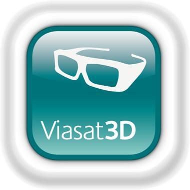 Viasat 3D sänder dygnet runt