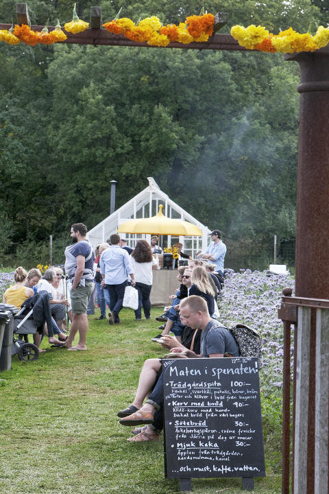Skördefest på Rosendals trädgård 2016