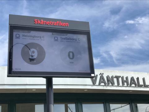 Unik vänthall i Landskrona