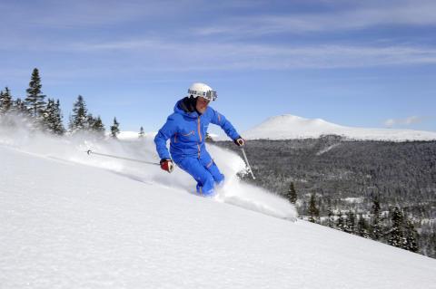 Rekord-tidlig åbning af den svenske skisæsonen