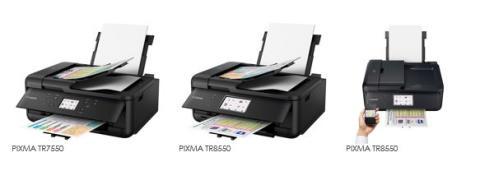 Canon presenterar skrivarna PIXMA TR7550 och PIXMA TR8550 med 4 funktioner i en enda enhet