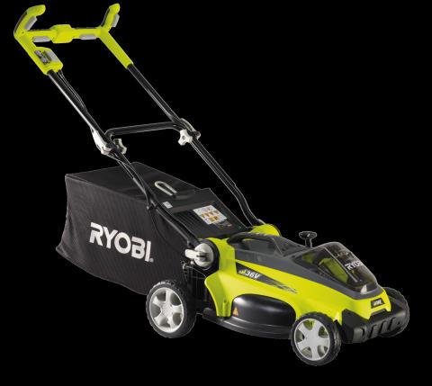Uudet RYOBI® 36V ruohonleikkurit