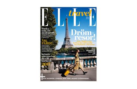 ELLE lanserar ny tidning: ELLE TRAVEL