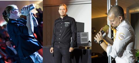 Tre finalister klara i årets Coffee Professionals Cup