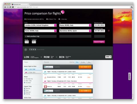 Momondo lancerer ny søgemaskine til rundrejser