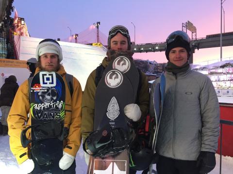Thorgren, Mattsson och Hedberg i världscupen i Quebec