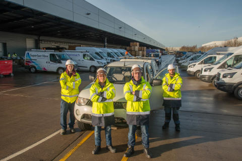Openreach stocks up for winter to keep the North East connected