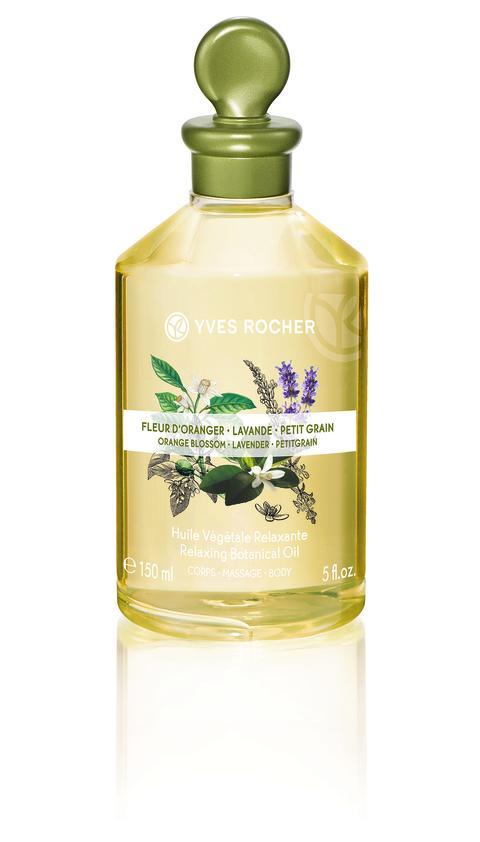 Orange Blossom Lavender Petitgrain Relaxing Botanical Oil Body & Massage