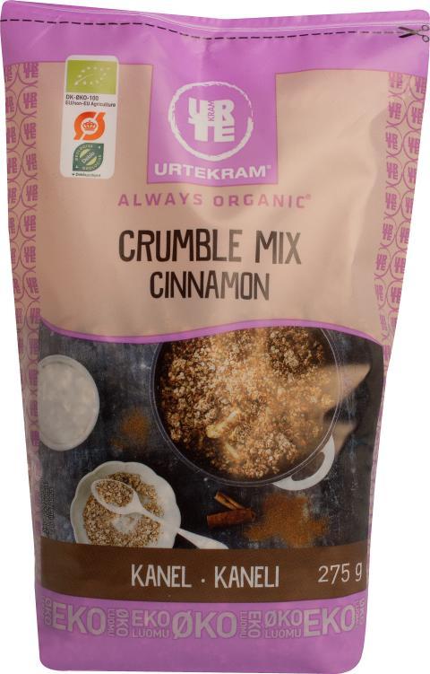 Crumble Mix Cinnamon