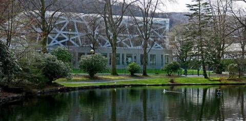 Månedens bygg oktober 2017: GC Rieber - Basen på Marineholmen i Bergen