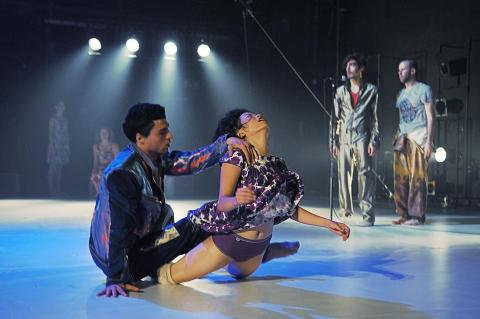 Dansgästspel från Tyskland