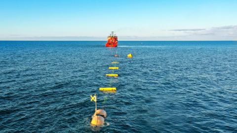 ESVAGT sikrer smult vande til test af bølgeenergianlæg