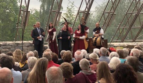 Publikumsrekord: Middelalderfest for 9495!