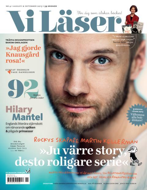 """Vi Läser nr 4/2013: Martin Kellerman: """"Ju värre story, desto roligare serie"""""""
