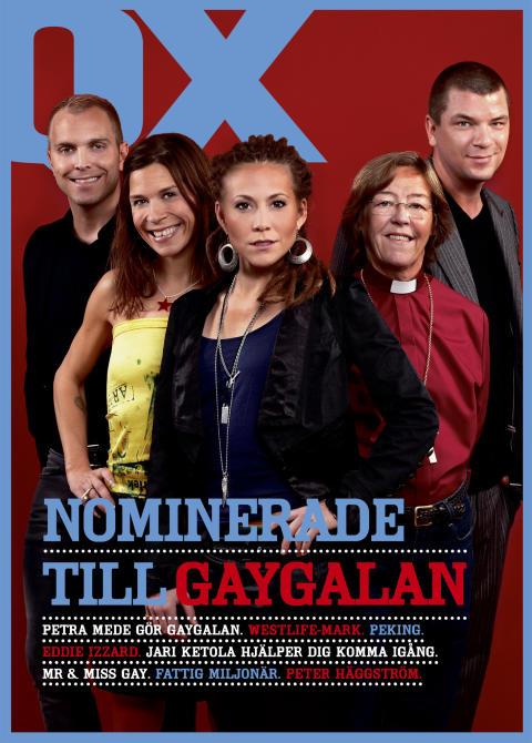 QX januari 2010 - GayGalans nominerade presenteras