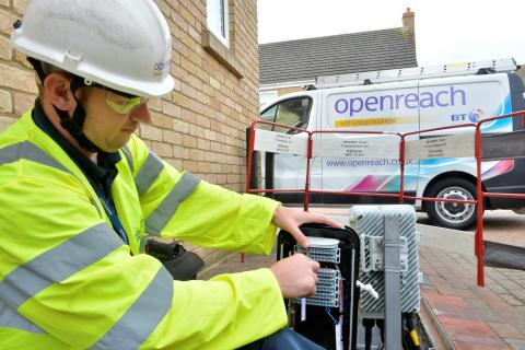 Derby leads the way as Openreach announces more ultrafast broadband pilot areas
