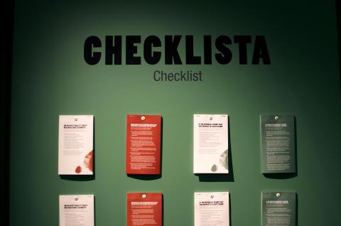 Checklista vid hatbrott. VI & DOM - en utställning om hatbrott