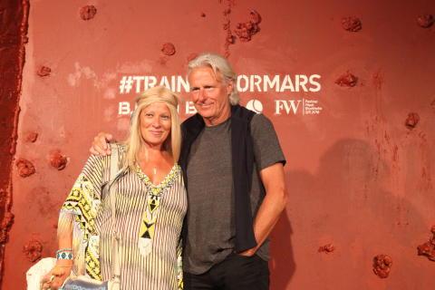 Patricia och Björn Borg