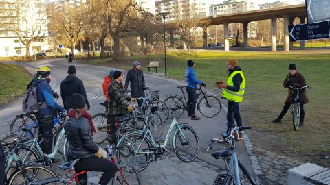 Ny låsningsfri bromsteknik: Crescents smartcykel kopplar grepp om vintervägarna