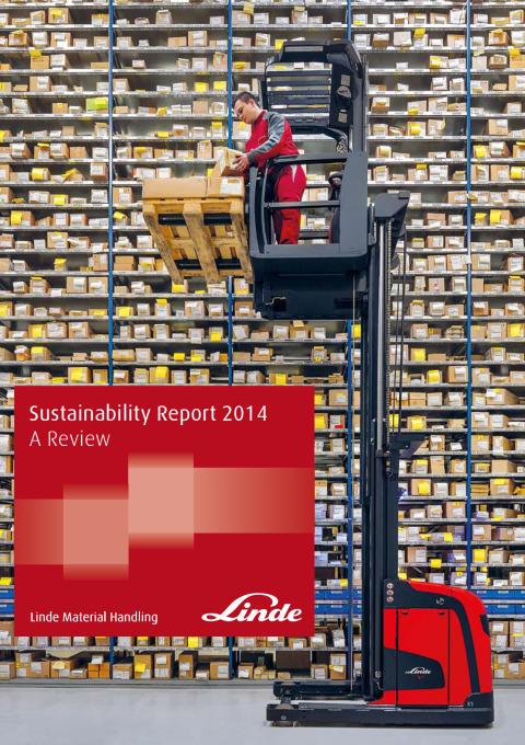 Linde Material Handling publicerar sin första hållbarhetsrapport
