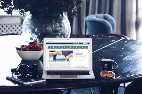 Ny webbplats underlättar kliniska studier