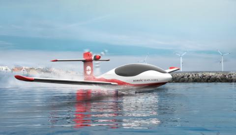 Norsk el-sjøfly utvikles for internasjonalt marked