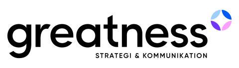 Ny grafisk profil och webb för Greatness